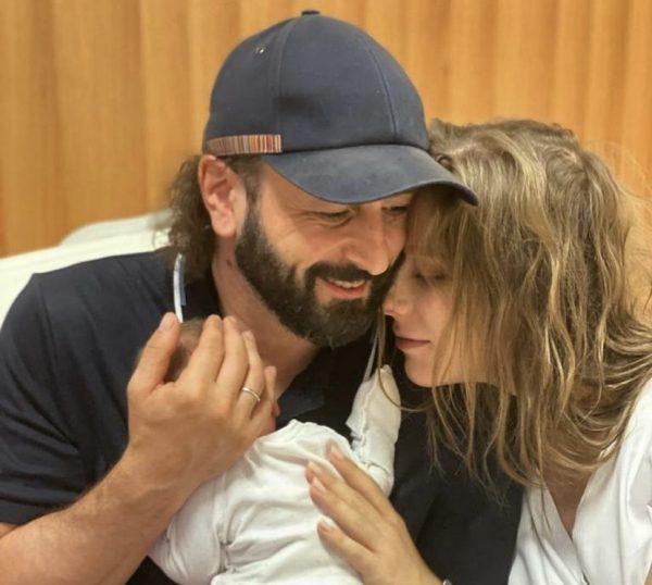 Авербух с женой и сыном