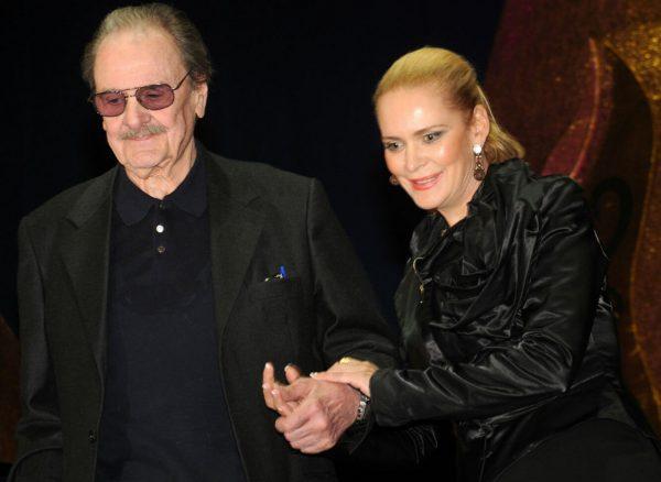 Алена Яковлева с отцом