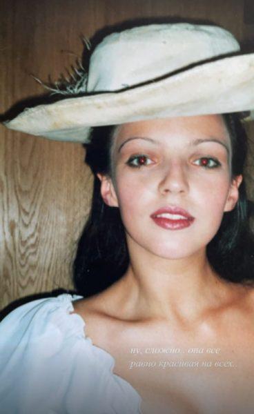 Ирина Леонова в молодости