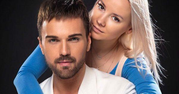 Александр Панайотов с женой Катей