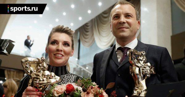 Евгений Попов с женой