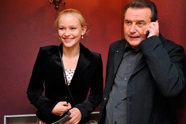 Юлия Пересильд и Алексей Учитель, фото:tvcenter.ru