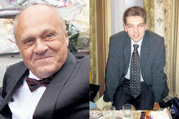 Владимир Меньшов с сыном