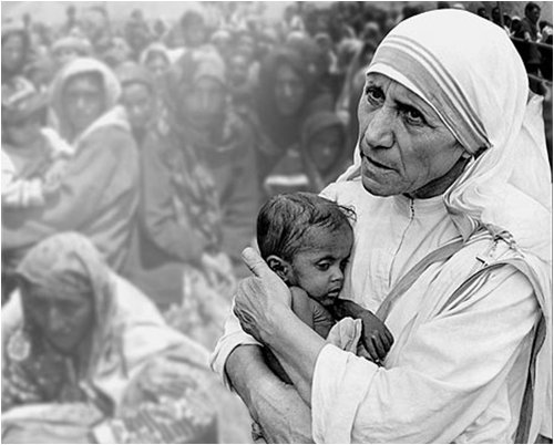 Мать Тереза на Гаити. Фото spletnik.ru