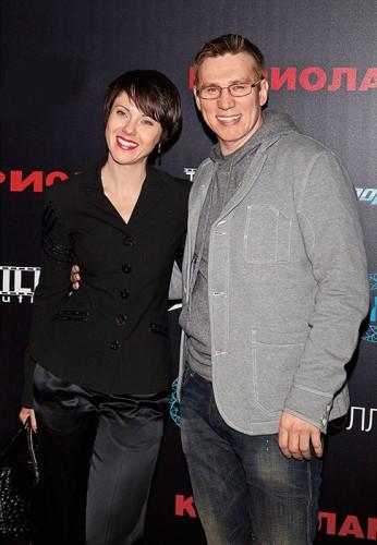Вадим Колганов с женой