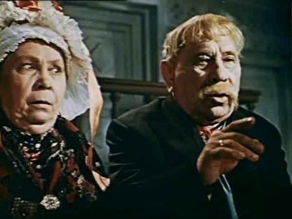 Николай Яконченко и Анна Кушниренко в ролях родителей Прони. Фото liveinternet.ru
