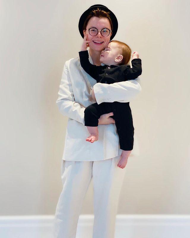 Татьяна Брухунова с сыном. Фото Инстаграм