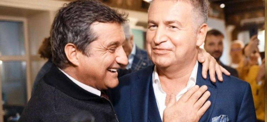 Отар Кушинашвили и Леонид Агутин. Фото replyua.net