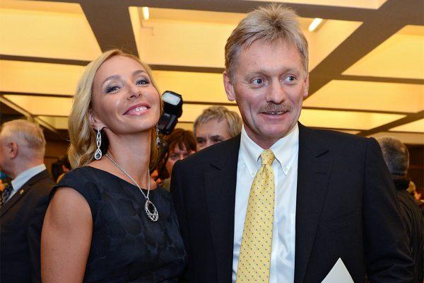 Татьяна Навка и Дмитрий Песков, фото:mosmonitor.ru
