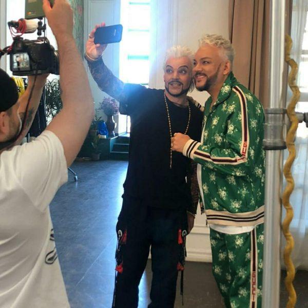 Филипп Киркоров и Алексей Егожинский. Фото Инстаграм