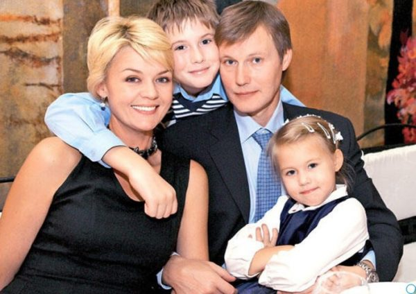 Семья Юлии Меньшовой