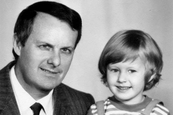 Ксюша Собчак с отцом.