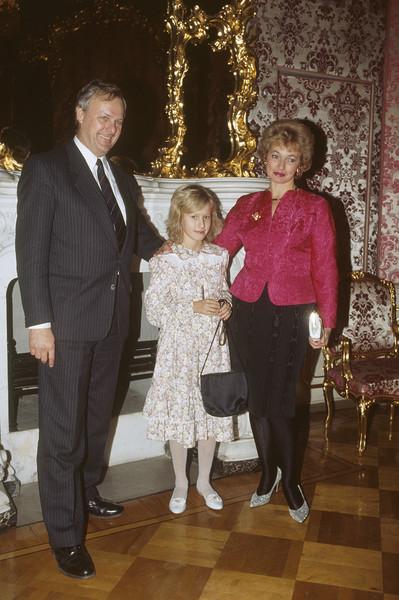Ксения Собчак с родителями
