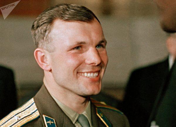 Юрий Гагарин. Фото Википедия