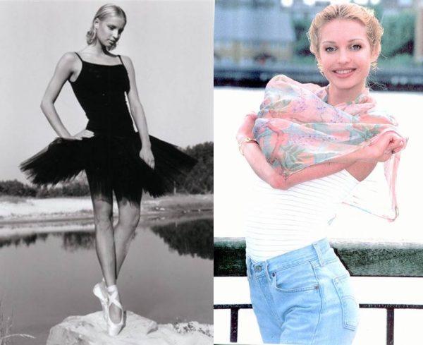Анастасия Волочкова в юности. Фото art-assorty.ru