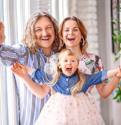 Семейное фото Игоря Николаева