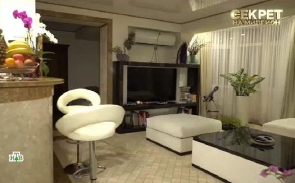 Квартира Елены Прокловой в Сочи, кадр из передачи