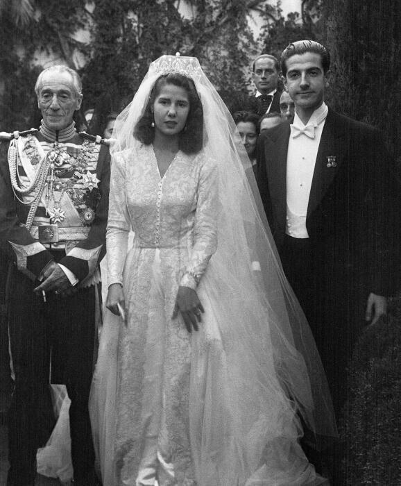 Первая свадьба герцогини де Альба. Фото kulturologia.ru