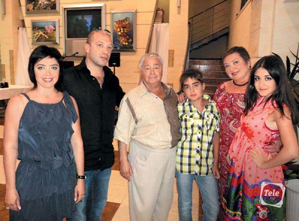 Роман Карцев с семьей