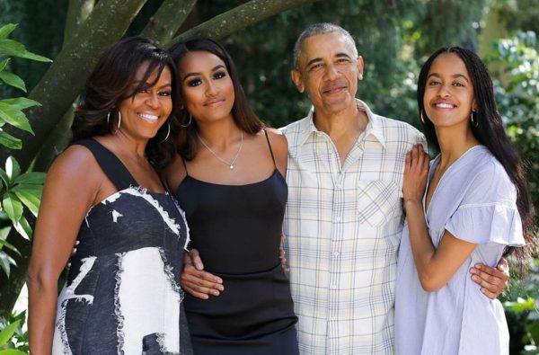Семья Обама сейчас. Фото 5-tv.ru