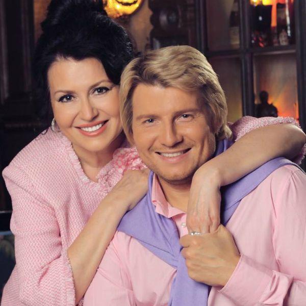 Николай Басков с мамой. Фото Вокруг ТВ