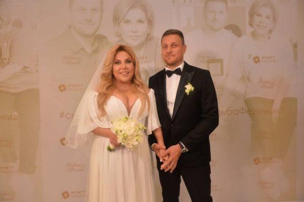27-го августа Марина Федункив и Стефано Маджи сыграли свадьбу