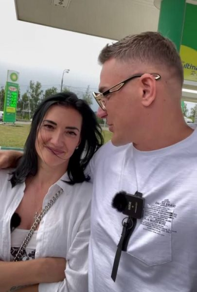 Курбан Омаров с бывшей женой, фото:НеМалахов