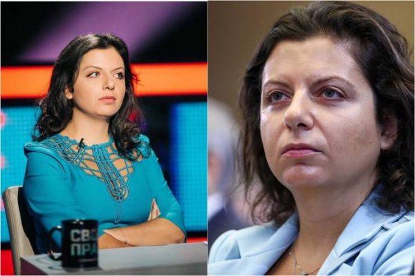 Маргарита Симоньян до и после,