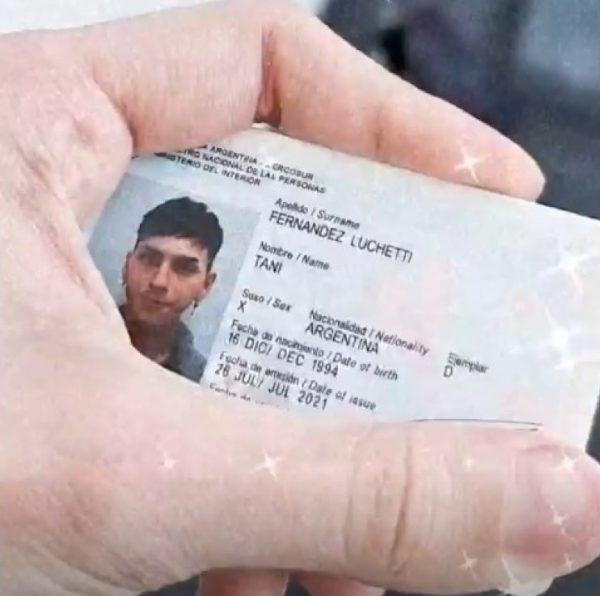 Паспорт Тани Фернандеc