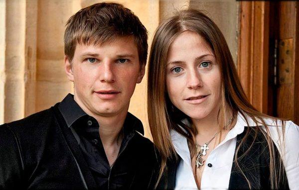 Юлия Барановская и Андрей Аршавин, фото:interesnyefakty.org