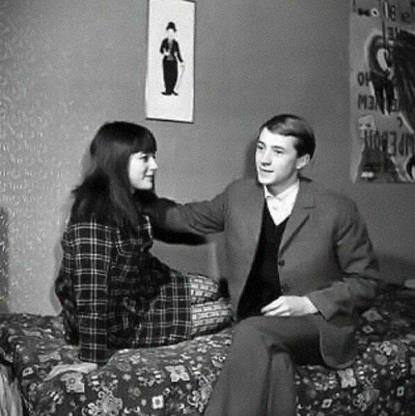 Наталья Варлей с первым мужем Николаем Бурляевым. Фото muzh-zhena