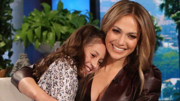 Дженнифер Лопес с дочкой