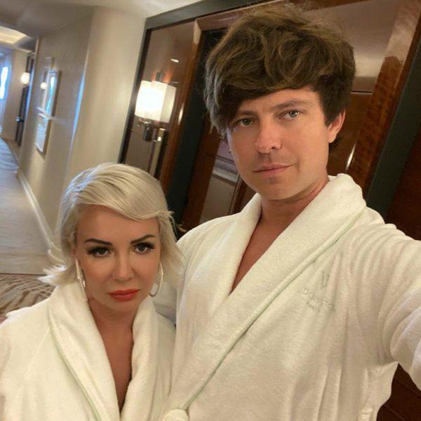 Татьяна КДэвис с мужем