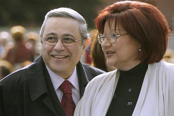 Петросян и Степаненко. Фото lenta.ru