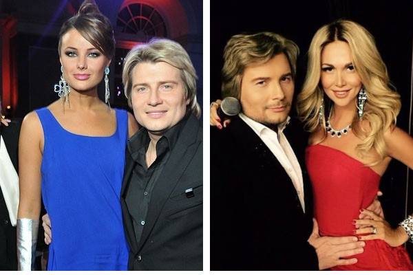 Басков с экс-невестами Оксаной Фëдоровой и Викторией Лопырëвой
