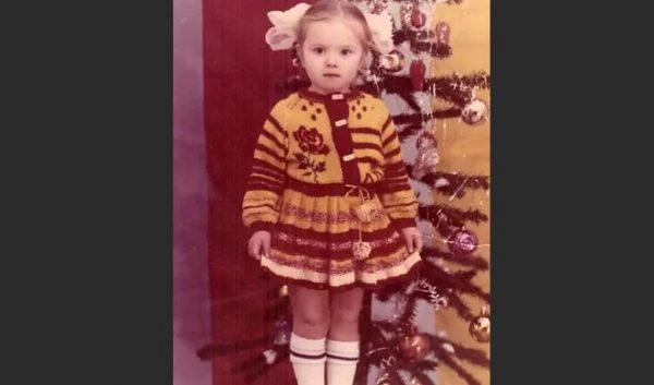 Евгения Осипова в детстве. Фото Инстаграм