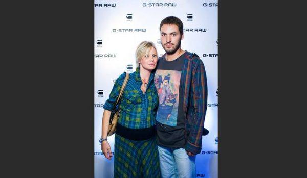 Евгения Осипова с мужем. Фото Инстаграм