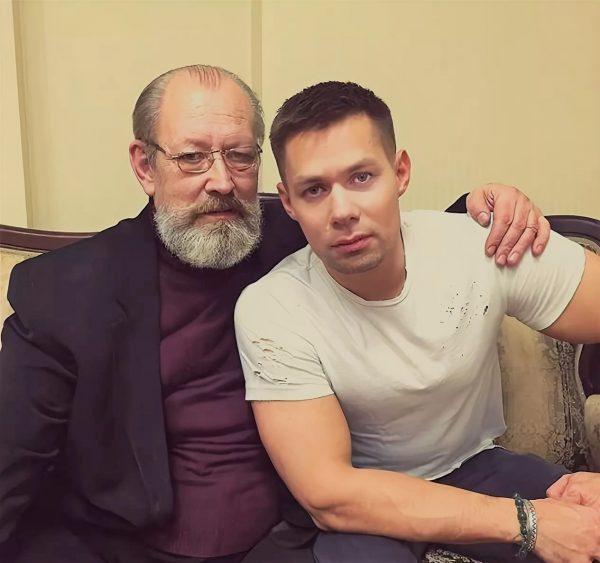 Стас Пьеха с отцом, фото:music-facts.ru