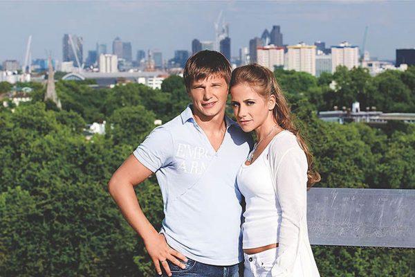 Юлия Барановская и Андрей Аршавин, фото:pulse.mail.ru