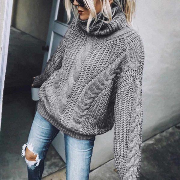 Самые модные свитера 2021-2022 – главные тренды осенне-зимнего сезона, фото стильных образов