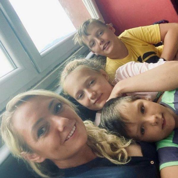 Светлана Малькова с детьми, фото: соцсети