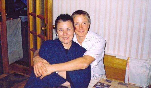 Валентина Толкунова с сыном Николаем