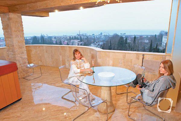 Квартира Елены Прокловой в Сочи,