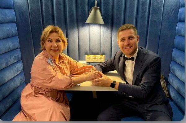Стефано Маджи и Марина Федункив, фото: Яндекс.Дзен