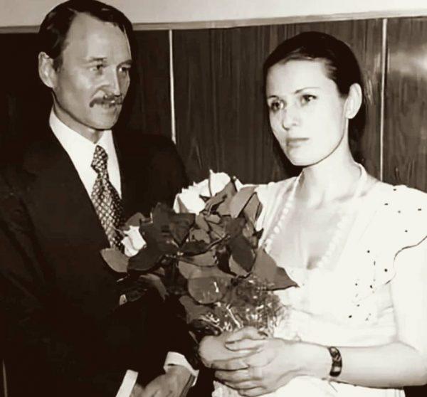 Валентина Толкунова и Юрий Прапоров