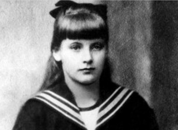 Грета Густафсон в детстве. Фото minsknews.by