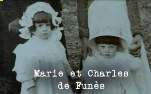 Маленький Луи де Фюнес с сестрой Мари Шарлиз. Фото uznayvse