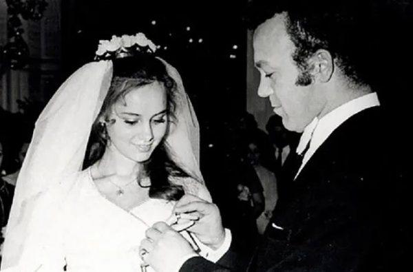 Свадьба Кобзона с Нелли Кобзон. Фото cosmo.ru