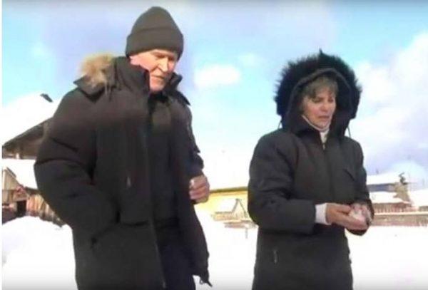 Татьяна Федотова и муж Геннадий Кузьмин. Фото stuki-druki.com/authors/Fedo