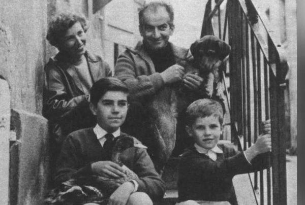 Луи де Фюнес с семьей. Фото psychologos.ru